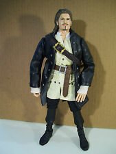 """DISNEY PIRATES OF THE CARIBBEAN WILL TURNER 12"""" ACTION FIGURE DEAD MAN'S CHEST"""
