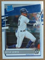 Kyle Lewis - Seattle Mariners RATED ROOKIE RC 🔥💎 2020 Donruss Optic #56 MINT