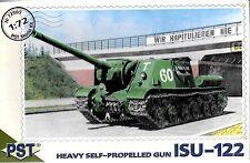 Soviet ISU-122 Self-Propelled Gun 1/72 Scale PST 72005  (Free shipping)