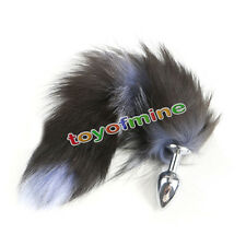 New Funny Love Faux Fox Tail Butt Anal Plug Sexy Romance Sex Toy