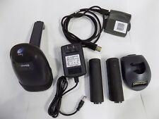 Metrologic MS1633 Focus 2D Bluetooth Barcode Scanner Cradle Receiver 2 Batteries