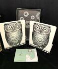 Vintage Fornasetti Milan Milano Italy Owl Bookends Pair