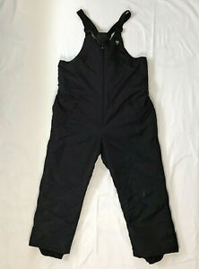 Vintage Arcticwear Black Snowmobile Pants Bib Overalls Sz XXXL 4981-249 USA Made