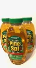 Pine-Sol Disinfectant 9.5 oz. Kills Germs Pine Scent Concentrate  3 pack