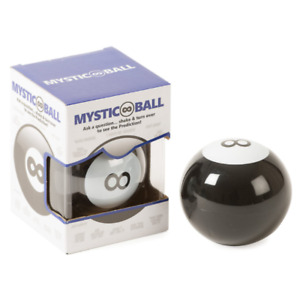 New Magic 8 Ball Funtime Et7530 Mystic Infinity Ball Black for 6 Years and Adult