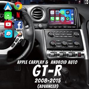 Nissan GT-R 2008-2015 R35 Apple CarPlay & Android Auto (Advanced)