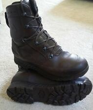 HAIX BROWN COMBAT BOOTS - GRADE 1 - SIZES UK 9 - ARMY ISSUE - BRITISH ARMY