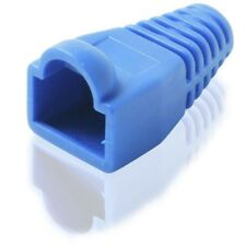 Blue RJ45 Boot for Network Cables Pack of 10 Boots