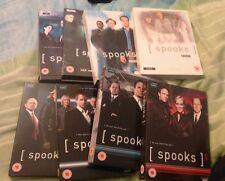 Spooks Series 1 to 8