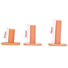 3pcs Rubber Driving Range Golf Tees Holder Tee Home Training Practice Mat UHFDS