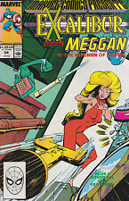 Marvel comic presents : EXCALIBUR Vol 1 No 34 Dec 1989  [ A2 ]