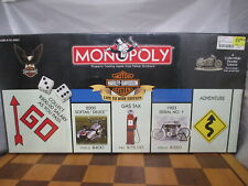 Harley Davidson Live To Ride Edition Monopoly Game Parker Bros FS New