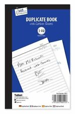 Duplicate Book Full size Carbon Required 1- 80 Pages  8012