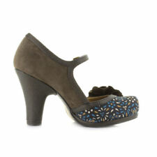High (3 in. to 4.5 in.) Suede Vintage Heels for Women