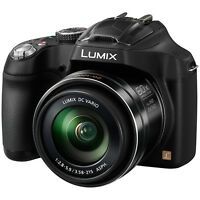 Panasonic Lumix DMC-FZ72EB-K 16.1 megapixels, Digital Bridge Camera, In Black