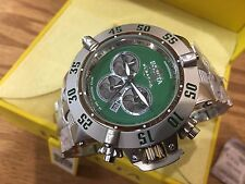 24449 Invicta Subaqua Noma III Men's 50mm Quartz Chronograph SS Bracelet Watch
