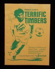 >orig./Scarce!! 1975 NASL PORTLAND TIMBERS The Oregon Journal Soccer Publication