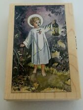 Stamps Happen Guiding Light Stamp Jesus Child Religious Christian Crafting