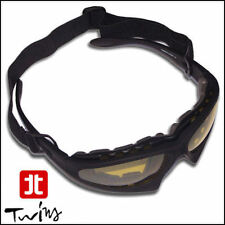 Occhiali maschera Lenti Gialle Snow Snowboard Sci Cinghia elastica regolabile