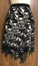 SELF-PORTRAIT Nina Lace Skirt Size UK 6, UK 12