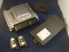 BMW 3er e90 n47 MOTEUR 2.0d Dispositif de commande DDE 8506434 avec cas 3 et 2 clés