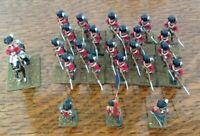 Painted Metal Napoleonic Figures 25mm Wargames British? Soldiers Set 1