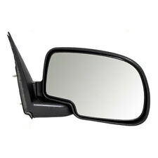 New Passengers Manual Side View Mirror Textured Assembly Chevy Pickup Truck SUV