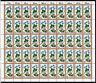 1978 BRD Mi.Nr. 985 kompletter Bogen postfrisch mit Formnummer 2