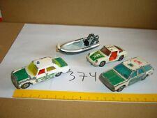 Konvolut Nr. 374 SIKU POLIZEI Porsche 911, Mercedes Benz 250, VW Passat Variant,
