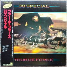 """1983 """"NM Wax"""" 38 Special Tour De Force AMP-28086 Japan If I'd Been the One"""
