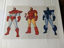 Iron Man Different Suits Marvel Action Hour Acetate Animation Cel