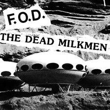 "Dead Milkmen/Flag Of Democracy Split 7"" Vinyl Record non lp songs punk 1985 NEW+"