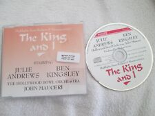 The King And I Rodgers & Hammerstein's Highlights UK Promo CD Maxi-Single