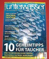 Unterwasser Das Tauchmagazin 12/2017 Dezember ungelesen