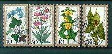 Allemagne -Germany 1978 - Michel n. 982/85 - Fleurs des bois