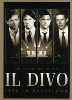 "IL DIVO ""AN EVENING WITH IL DIVO LIVE IN..."" DVD+CD NEU"