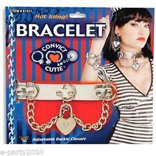 CONVICT Cutie chain BRACELET ~ SEXY Costume Accessory