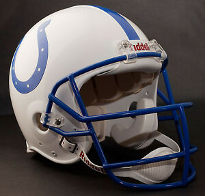 PEYTON MANNING 1999 Edition INDIANAPOLIS COLTS Riddell AUTHENTIC Football Helmet