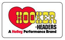 HOOKER headers STICKER  vw ratlook 140mm