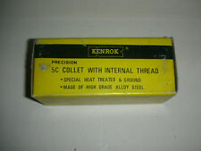 Kenrok Precision 5C Collet with Internal Thread - Size 19/32  - NIB (2 T)