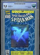 Spectacular Spider-man #189 CBCS 9.8 Gem Mint  Silver Hologram Cover 1992