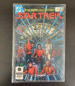 Star Trek #1 1st Star-Spanning Collector's Issue 1984 DC Comic Book