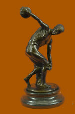 Close Out Diskobolos bronze sculpture athletes statue Reproduction of Greek Gift