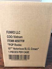 10 INCH FUNKO POP! ROCKS THE NOTORIOUS B.I.G. BIGGIE SMALLS #162 LMTD. EDITION!!
