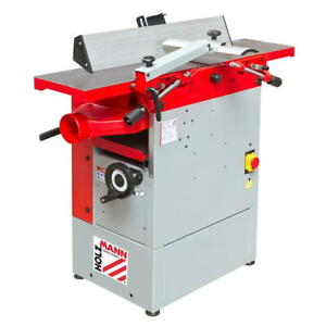Holzmann Abricht-Dicken Hobelmaschinen Hobel HOB260ECO 400V +Magneteinstellehre