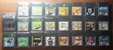 Video Gioco Retro Game Boy Color Advance GBC GBA GB Driver Lego Gex Turok Disney