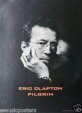 """Eric Clapton """"Pilgrim"""" U.S. Promo Poster - Classic Rock Guitar Legend!"""
