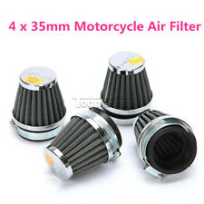 4 x 35mm Motorcycle Air Filter Cleaner For Suzuki GT125 GT185 GT200 GT200XS MBK