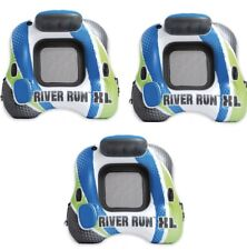 Intex River Run 1 XL 3 Pack Green / Blue Inflatable Tube FloatRaft