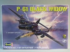REVELL P-61 BLACK WIDOW AIRPLANE MODEL KIT aircraft 1:48 Scale plane 85-7546 NEW